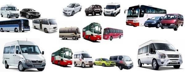 ICC cung cấp đa dạng mọi loại xe oto cho thuê