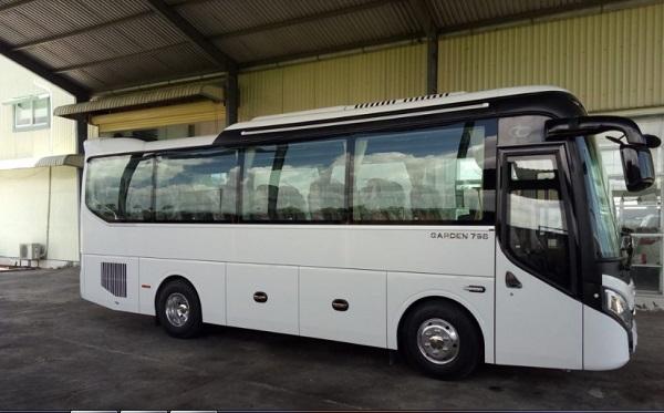 Thuê xe 29 chỗ TPHCM – Dòng xe Thaco