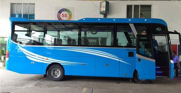 Thuê xe 29 chỗ TPHCM – Dòng xe Samco Felix