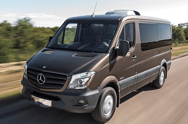 Xe 16 chỗ Mercedes Sprinter – thuê xe 16 chỗ đi Chùa Hương
