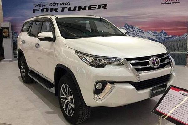 Toyota Fortuner dòng xe 7 chỗ chất lượng