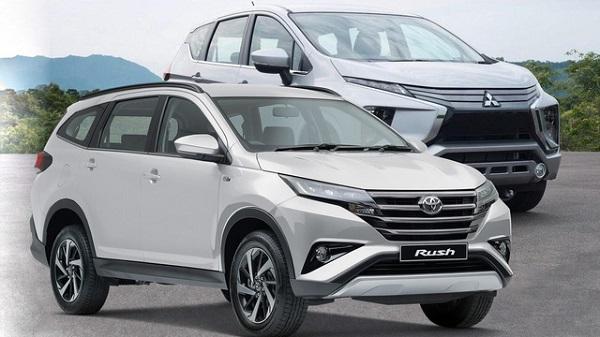 Toyota Rush và Mitsubishi Xpander dòng xe 7 chỗ chất lượng