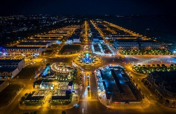 Thành phố Rạch Giá đẹp lung linh về đêm