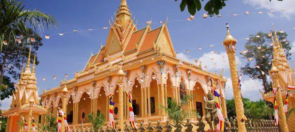 Hình ảnh chùa Cò – Trà Vinh